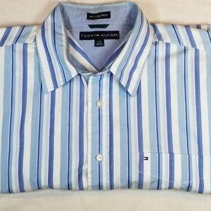 Tommy Hilfiger Mens Short Sleeves Shirt